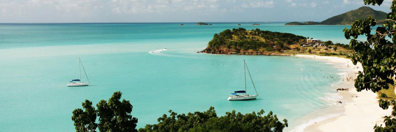 Antigua's Sunsail base