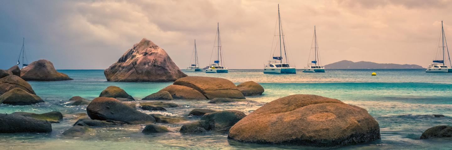 Yachts in Seychelles